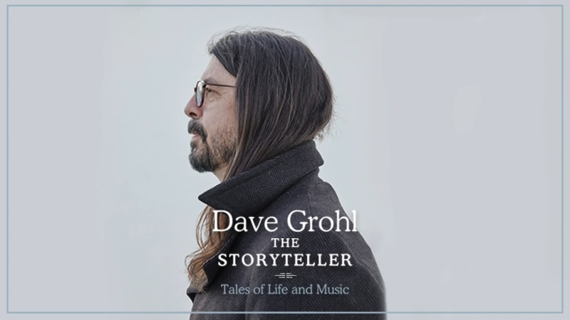 "Dave Grohl anunció ""The Storyteller: Tales Of Life In Music"""